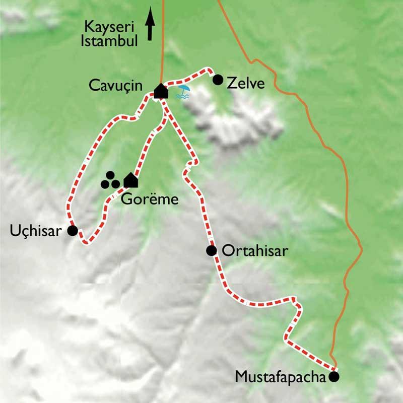 Randonn e cappadoce en famille turquie for Capp paysage